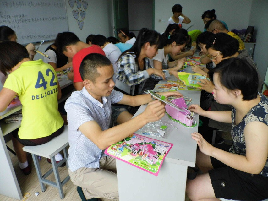 Sharing Love: JinNing BinJiang Hotel Staff Visit to our Center